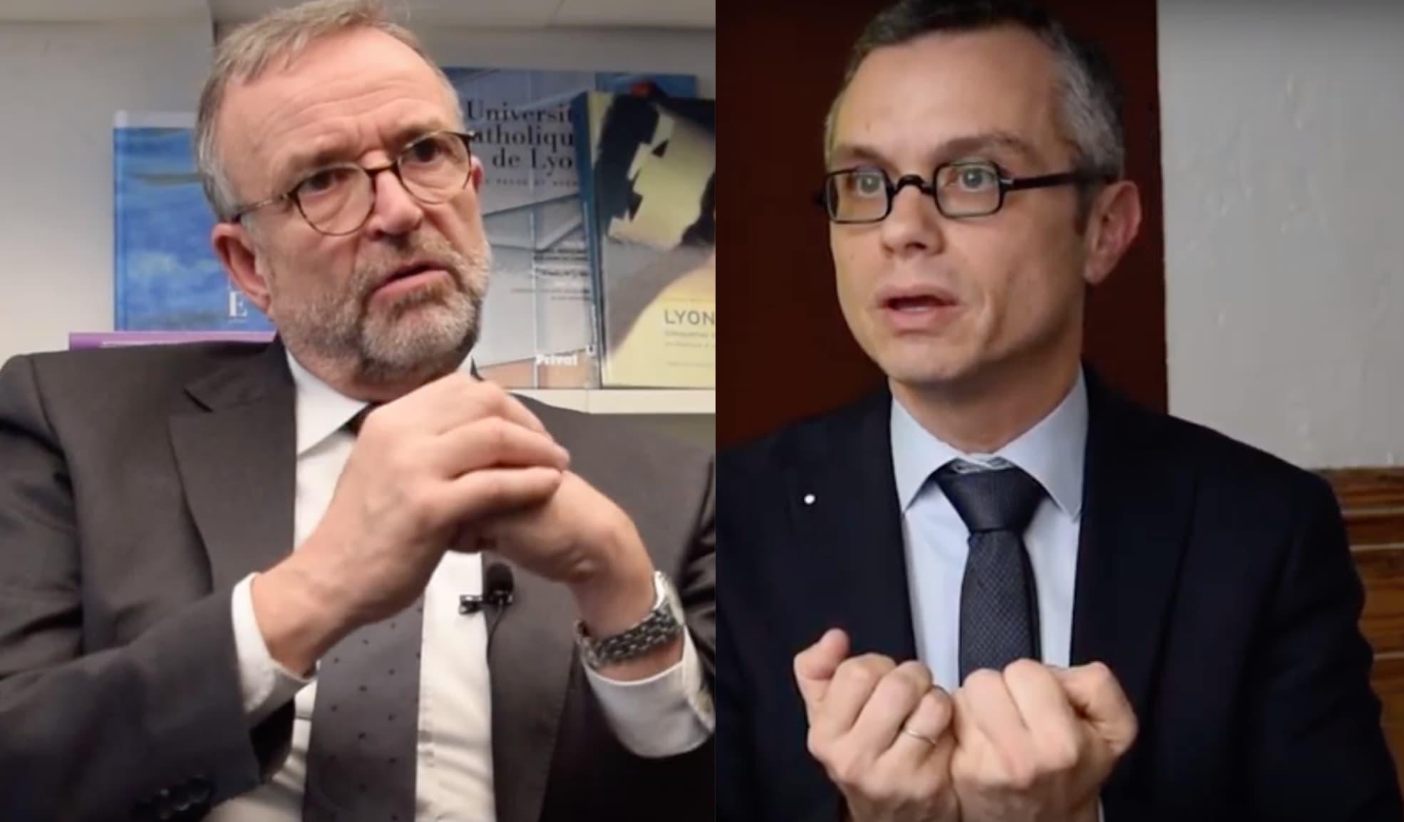 Étienne Blanc et Renaud Payre
